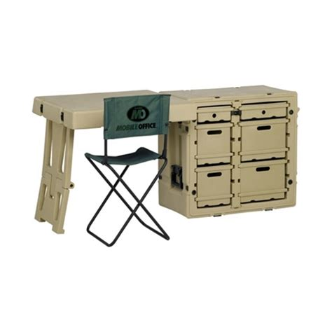 nsn 7110 01 502 5826 hardigg field desk w chair olive