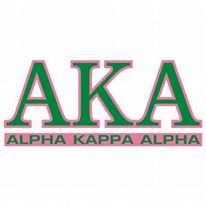 greek store alpha kappa alpha letters over name decal With alpha art letters