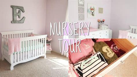 Baby Girl's Nursery Tour!  37 Weeks Pregnant! Youtube