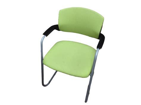 chaise visiteur chaises de réunion luge vert occasion adopte un bureau