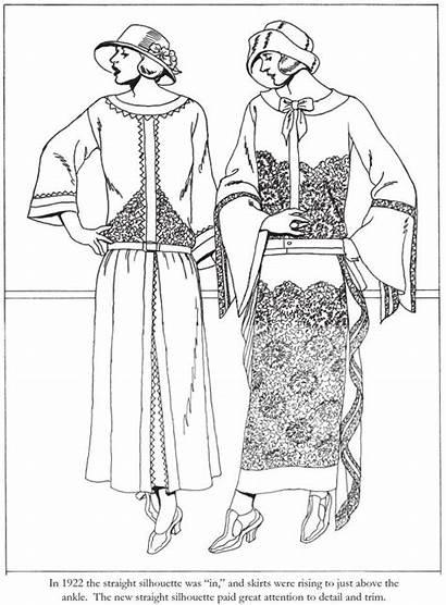 Coloring Pages Dover Roaring Twenties Publications Adult