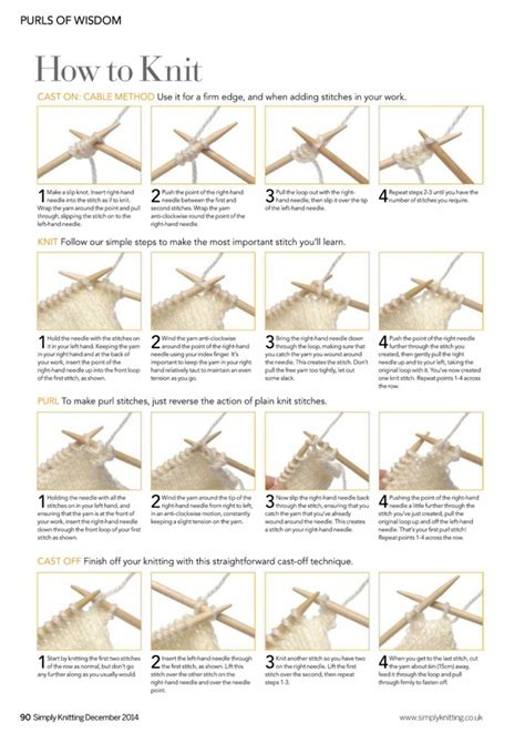 knitting tutorials knitting