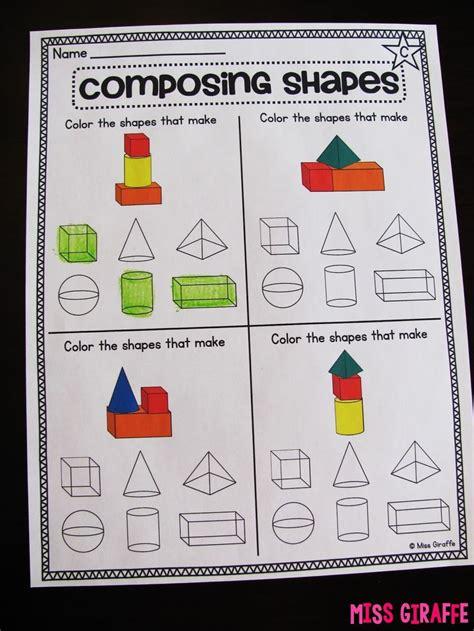 composing shapes  st grade st grade math shapes