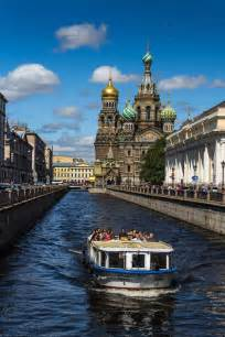 Saint-Petersburg Russia Canals
