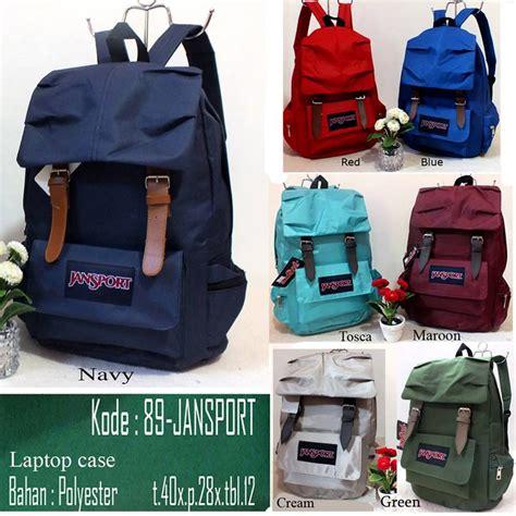 Ransel Jansport 7206 Polos jual tas ransel sekolah polos tas sekolah tas wanita