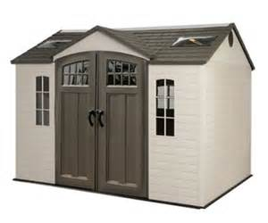 20 x 10 garden shed with skylights for sale