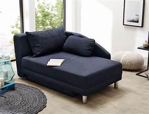 Sofa Ottomane : recamiere 149x90 cm dunkelblau ottomane schlafsofa couch ~ Pilothousefishingboats.com Haus und Dekorationen