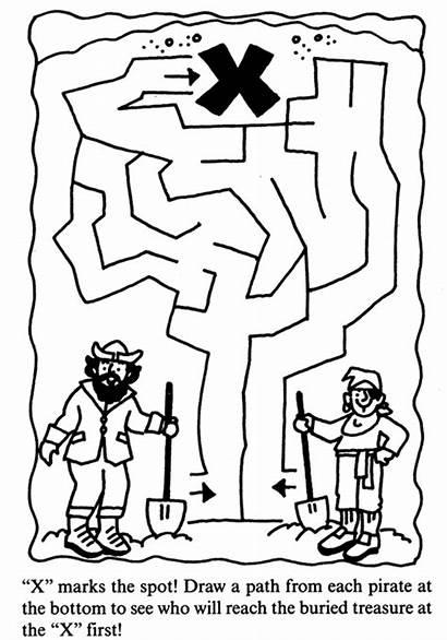 Pirate Maze Treasure Talk Simple Pirates Musings