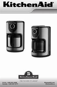 Kitchenaid Coffeemaker Kcm112ob User Guide