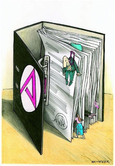 karikaturen wettbewerb der initiative neue soziale