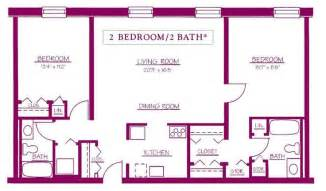 two bedroom two bathroom house plans 2 bedroom 2 bath house plans modern home house design