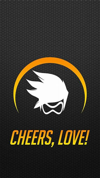 Tracer Overwatch Phone Tattoo Wallpapers