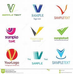 The gallery for --> Letter V Logo