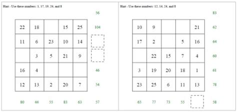 addition  subtraction activities worksheets