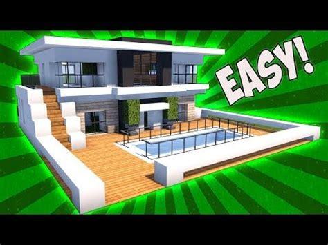 minecraft   build  small modern house tutorial  mansion minecraft servers view
