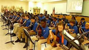 Trickum Middle School Guitar Class Covers Katy Perry Roar