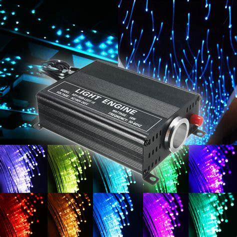 diy fiber optic ceiling lighting 2m diy 16w rgb led fiber optic ceiling lights kit