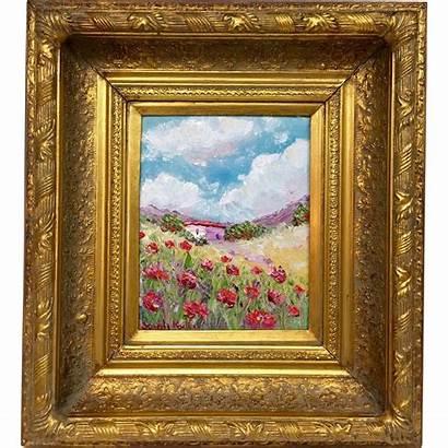Oil French Painting Framed Frames Provence Frame