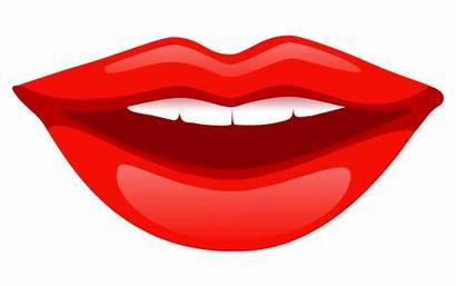 Lips Transparent Mouth Clipart Cartoon Lip Smile