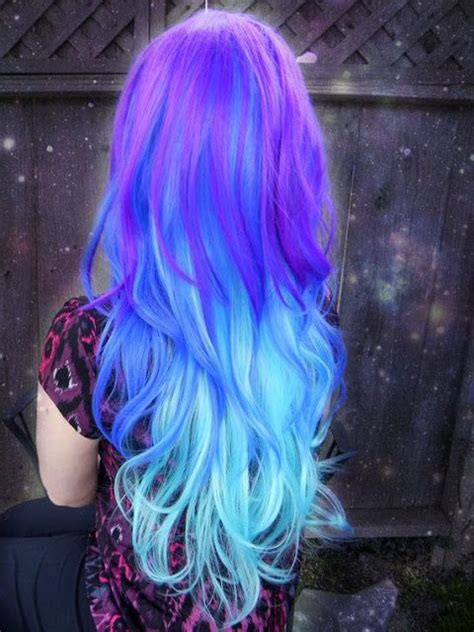 A Whole Galaxy On Your Hair In 2019 Gorgeous Hairstyles