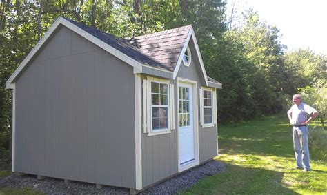 backyard shed shed bunkie plans north country sheds