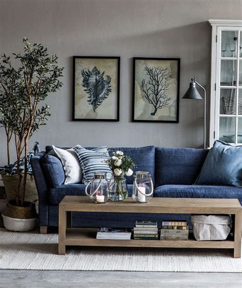 Decorating Ideas For Living Room With Blue Sofa by I Want A Blue Jean Furniture I