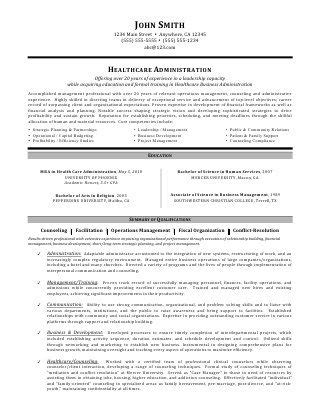 It Administrator Resume Sle by Healthcare Administration Resume By C Coleman