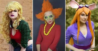 90s Cartoon Characters Cosplay Impossible