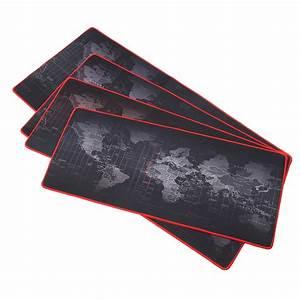 2mm grand non slip world map tapis de souris mouse pad With tapis de souris personnalisé avec canapé chinois