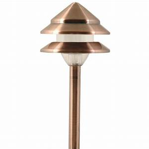 Moonrays marion style low voltage watt copper tier