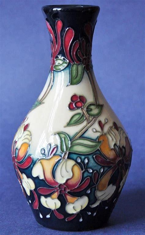 moorcroft pottery honeysuckle haven  rachel bishop