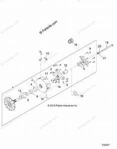 Polaris Side By Side 2016 Oem Parts Diagram For Drive Train  Primary Clutch
