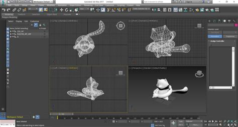 ds max  object export lens studio  snap