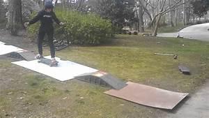 Mini Homemade Skate Ramp - YouTube