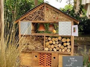 Insecte De Maison : une maison pour les insectes ~ Melissatoandfro.com Idées de Décoration