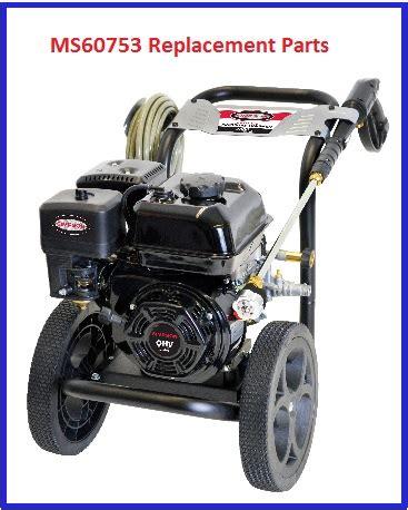 174 ms60753 s pressure washer parts accessories