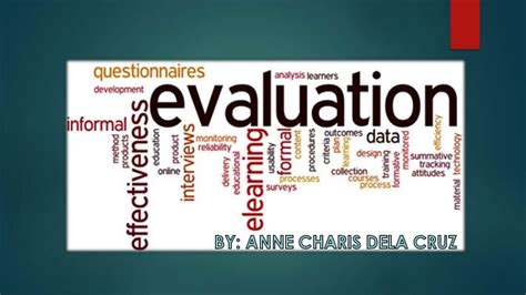 Dela Cruz Meaning Of Evaluation
