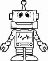Robot Coloring Pages Drawing Printable Cute Robots Sketch Line Cool Colouring Sheets Pencil Awesome Adult Huber Kelsey Divergent Boundary Summer sketch template