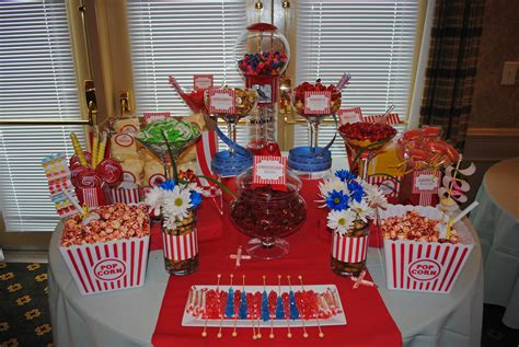 Carnival Style Candy Buffets Cw Distinctive Designs