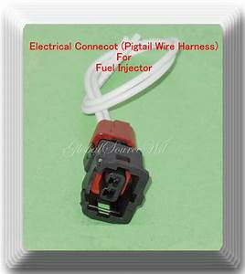 Electrical Connector Of Fuel Injector Fj669 Fits  C70 S60
