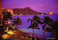 Diamond Head Hawaii Sunset