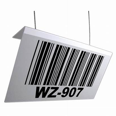 Barcode Range Placards Warehouse Placard Sign