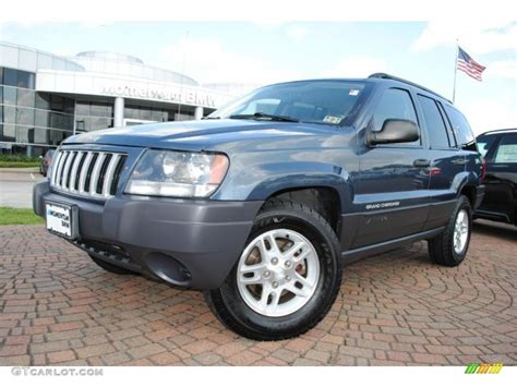 blue jeep grand cherokee 2004 2004 steel blue pearl jeep grand cherokee laredo 36193656