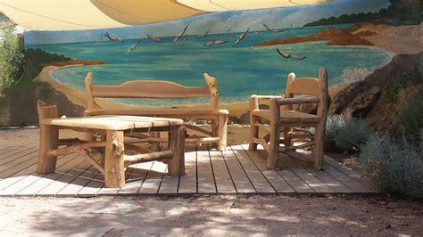 salon de jardin bois flotte galerie acqua lenghju des meubles en bois flott 233 sur