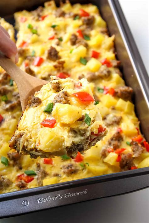 breakfast casseroles recipes sunshine breakfast casserole