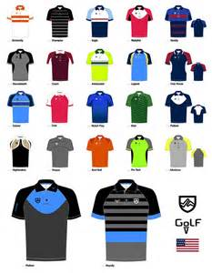 sublimated mens golf polo patterns