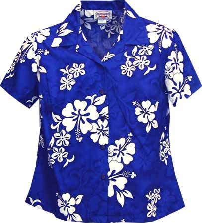 hawaiian print blouses hibiscus floral print womens fitted hawaiian blouse