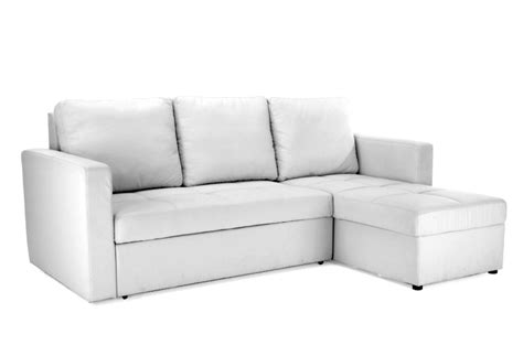 Chaise Sofa Sleeper With Storage by Modern White Sectional Sofa With Storage Chaise