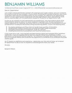 covering letter example for administrative position - cover letter templates examples