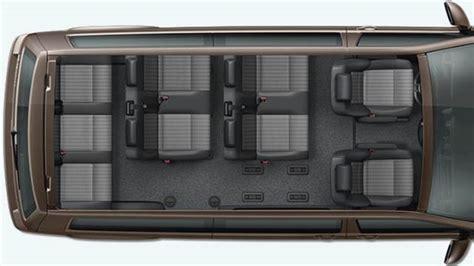 Volkswagen T6 Caravelle Lg 2015 Abmessungen, Kofferraum